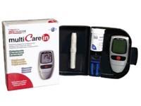 Multicare In 3in1 vércukormérő szett.
