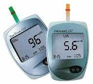 Wellmed Easy Touch GU vércukor,-húgysavmérő készülék.