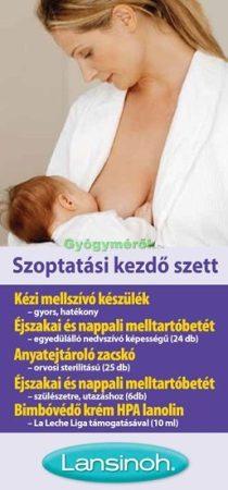 Lansinoh szoptatási szett