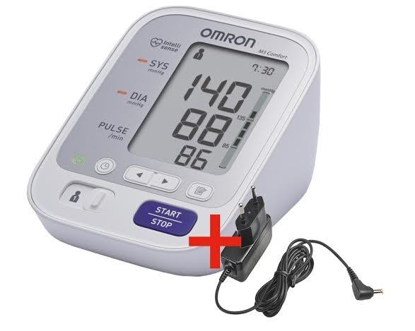 Omron M3 Comfort Vérnyomásmérő - 360 Fok Adapterrel Felkaros