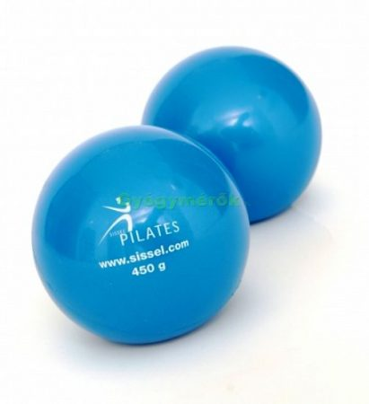 SISSEL Pilates Toning Ball (2 db) -450gr