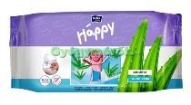 BELLA Baby Happy nedves sensitive törlőkendő aloeval 4x64