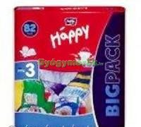 BELLA Happy Midi Big Pack pelenka 5-9kg, 82db