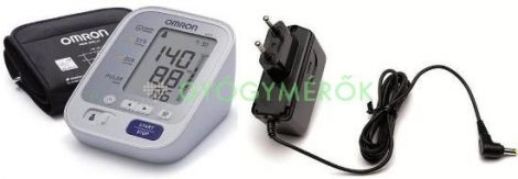 Omron M3 vérnyomásmérő + adapter