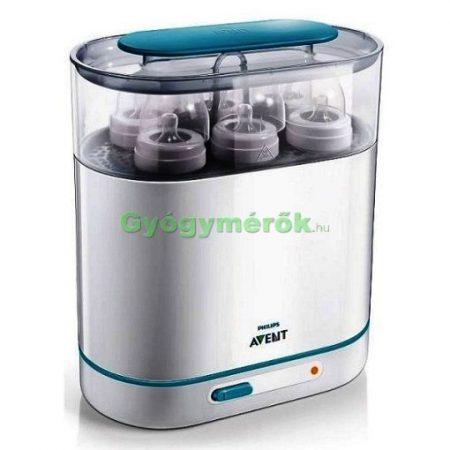 AVENT 3in1 elektromos gőz sterilizáló