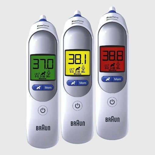 Braun ThermoScan 7 Fülhőmérő