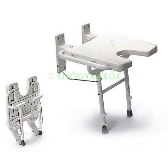 Tusoló ülőke, falra szerelhető - DKS-130 (GYS171)